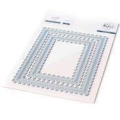 Stitched Scallop Rectangles Essentials - Pinkfresh - PRE ORDER