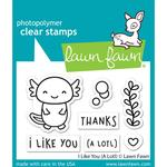 I Like You (A Lotl) Clear Stamps - Lawn Fawn