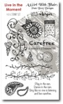 Live In The Moment Stamp Set - Carefree - Wild Whisper Designs