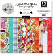 Carefree DOUBLE 12x12 Paper Pack - Wild Whisper Designs