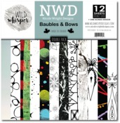Baubles & Bows DOUBLE 12x12 Paper Pack - Wild Whisper Designs - PRE ORDER