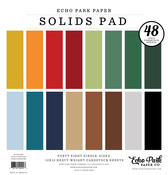 Outdoors Solids 12x12 Paper Pad - Echo Park