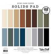 Neutrals Solids 12x12 Paper Pad - Echo Park