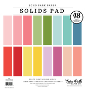 Girl Solids 12x12 Paper Pad - Echo Park