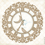 Time Measured Chipboard - Lucky Star - Blue Fern Studios - PRE ORDER