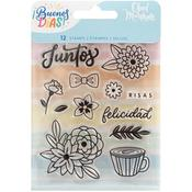 Buenos Dias Acrylic Stamps Set 1 - Obed Marshall