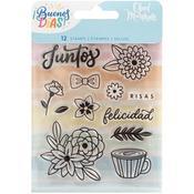 Buenos Dias Acrylic Stamps Set 1  - American Crafts