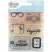 Buenos Dias Acrylic Stamps Set 2  - American Crafts