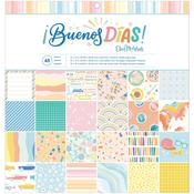 Buenos Dias 12x12 Paper Pad  - American Crafts