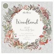 Woodland 12x12 Premium Paper Pad - Craft Consortium