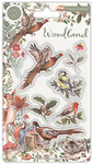 Birds Clear Stamp Set - Woodland