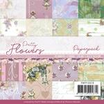 Pretty Flowers 6x6 Paper Pack - Precious Marieke - Find It Trading - PRE ORDER