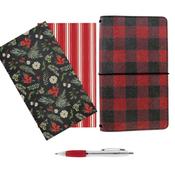 Traveler's Notebook Bundle -Red