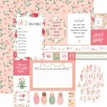 Multi Journaling Cards Paper - Welcome Baby Girl - Echo Park