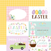 6X4 Journaling Cards Paper - Welcome Easter - Echo Park