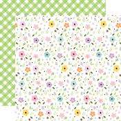 Pastel Petals Paper - Welcome Easter - Echo Park