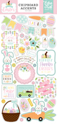 Welcome Easter 6x13 Chipboard Accents - Echo Park