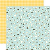 Bumblebee Breeze Paper - Welcome Spring - Echo Park
