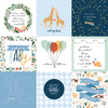 4X4 Journaling Cards Paper - Welcome Baby Boy - Echo Park