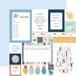 Multi Journaling Cards Paper - Welcome Baby Boy - Echo Park