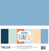 Welcome Baby Boy Solids Kit - Echo Park