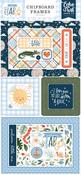 Welcome Baby Boy 6x13 Chipboard Frames - Echo Park