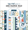 Welcome Baby Boy 6x6 Paper Pad - Echo Park