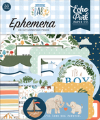 Welcome Baby Boy Ephemera - Echo Park