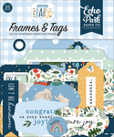 Welcome Baby Boy Frames & Tags - Echo Park