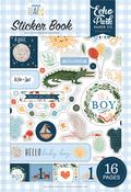 Welcome Baby Boy Sticker Book - Echo Park