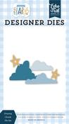 Dreamy Clouds Die Set - Welcome Baby Boy - Echo Park