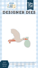 Stork Delivery Die Set - Welcome Baby Boy - Echo Park