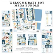 Welcome Baby Boy Mega Bundle - Echo Park