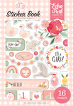 Welcome Baby Girl Sticker Book - Echo Park - PRE ORDER