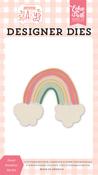 Sweet Rainbow Die Set - Welcome Baby Girl - Echo Park