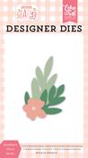 Sweetheart Floral Die Set - Welcome Baby Girl - Echo Park