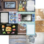 12x12 - 4 x 6 Journaling Paper 2 - Asuka Studio