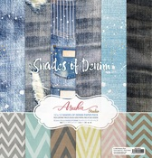 Shades Of Denim 12x12 Collection Pack - Asuka Studio