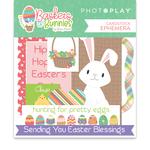Baskets of Bunnies Ephemera - Photoplay