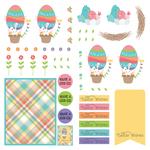 Dies Paper - Baskets of Bunnies - Photoplay