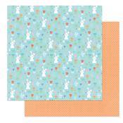 Hop Hop Paper - Baskets of Bunnies - Photoplay