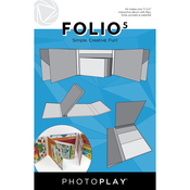 Folio 5 - 5.5x7 White - Photoplay