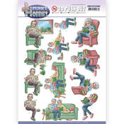 Reading Punchout Sheet - Funky Hobbies - Find It Trading