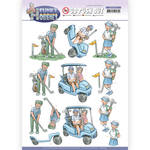 Golf Punchout Sheet - Funky Hobbies - Find It Trading