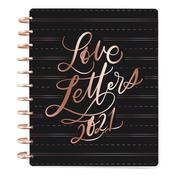 Love Letters Learn Calligraphy Big Horizontal Happy Planner - Me & My Big Ideas