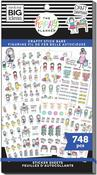 Stick Girls Craft Value Pack Stickers - Me & My Big Ideas