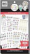 Stick Girls Seasonal Value Pack Stickers - Me & My Big Ideas