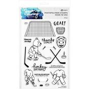Hockey Buddies Clear Stamp Set - Simon Hurley