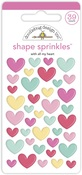 With All My Heart Shape Sprinkles - Made With Love - Doodlebug