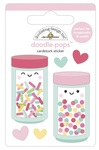 Sprinkle Shoppe Doodlepops - Made With Love - Doodlebug